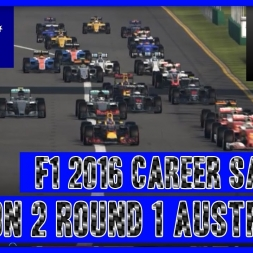 F1 2016 Sauber Career Season 2 - Round 1 Australia Fighting Start