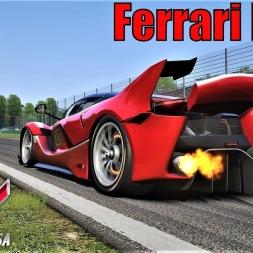 Ferrari FXX K HOTLAP at Monza - Assetto Corsa