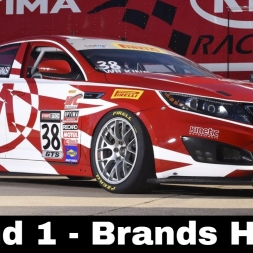 iRacing BSR Kia Cup Series Round 1 - Brands Hatch