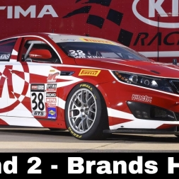 iRacing BSR Kia Cup Series Round 2 - Brands Hatch