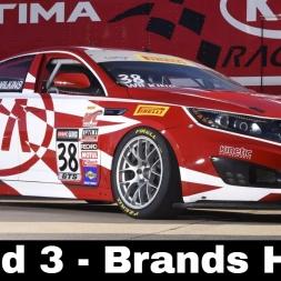 iRaicng BSR Kia Cup Series Round 3 - Brands Hatch