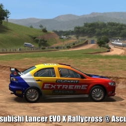 Mitsubishi Lancer EVO X Rallycross @ Ascurra - Automobilista 60FPS
