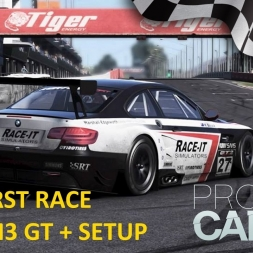 Project CARS Bathrust Race with BMW M3 GT + setup