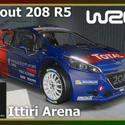 WRC 6 - Ittiri Arena - Peugeout 208 R5