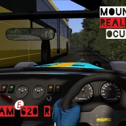 REAL TRAFFIC Mount Akina | Caterham Seven 620 R - Assetto Corsa Oculus Rift Gameplay