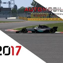 F1 2017 Mercedes automobilista