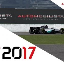 F1 2017 Mercedes onboard automobilista
