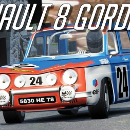 Renault 8 Gordini for Assetto Corsa - Rally Peyregrosse