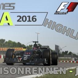 F1 2016 | LIGA 2016 | 5. Saisonrennen | Japan