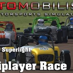 Automobilista | RaceDepartment Club Race | Caterham Superlight | Thruxton