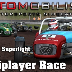 Automobilista | RaceDepartment Club Race | Caterham Superlight | Thruxton