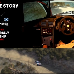 Colin McRae Sim Racing Story Part 3 of 6 Ford Focus Greece