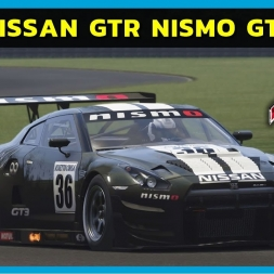 Assetto Corsa - Nissan GTR Nismo GT3 at Virginia Raceway (PT-BR)