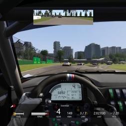 Assetto Corsa - quick race Z4 GT3 @ Melbourne onboard