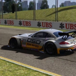 Assetto Corsa - quick race Z4 GT3 @ Melbourne replay