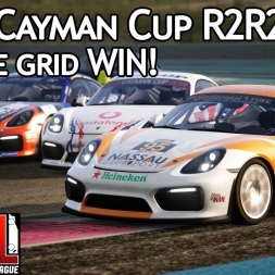 Assetto Corsa Multiplayer: ACRL Cayman Cup R2R2 : Reverse grid WIN! (Cayman GT4 @ Paul Ricard WTCC)