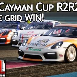 Assetto Corsa Multiplayer: ACRL Cayman Cup R2R2 : Reverse grid WIN! (Cayman GT4 @ Paul Ricard WTCC)