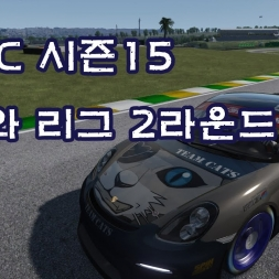 아세토 코르사(Assetto Corsa) ACCC S15 어서와 리그 R02(Porsche Cayman GT4 Clubsport @ Interlagos)