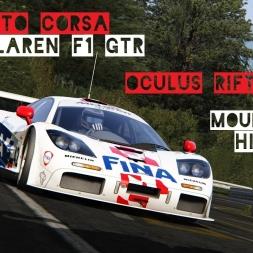 VR [Oculus Rift] McLaren F1 GTR Mount Akina Hillclimb - Assetto Corsa Gameplay