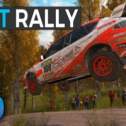 DiRT Rally League - The 4 Year Break is Over - Preseason Rally - Race Department WRC Highlights