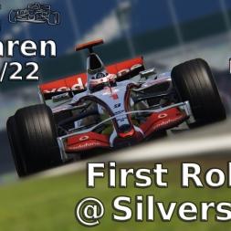 Assetto Corsa | VRC McLaren MP 4/22 | My first Rollout | Silverstone national