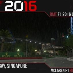 F1 2016 // Ramteam F1 2016 League S1, R15 - Singapore [60fps]