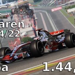 Assetto Corsa | VRC McLaren Mercedes MP 4/22 | Spa | 1.44,934