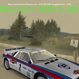 "Richard Burns Rally-THE POWER ITS REAL ""Lancia 037"""