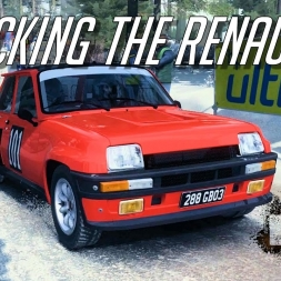 WRECKING THE RENAULT 5 IN SWEDEN - Dirt Rally - Xiaomi Yi POV