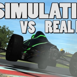 Simulation Vs Real Life: Formula Ford @ Oulton Park