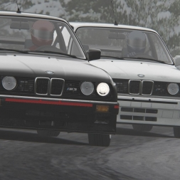 Snow Fun | Assetto Corsa | Trento Bondone Winter | BMW M3 E30