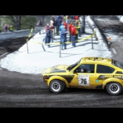 Dirt Rally-CMS Rally league-Monte Carlo-Opel Kadett