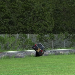 rFactor2 | Clio Roll Crash Fail