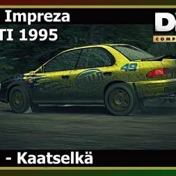 Dirt 3 - Subaru Impreza WRX STI 1995 - Kaatselkä