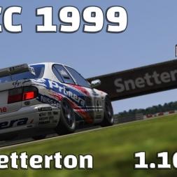 Assetto Corsa | BTCC 1999 | Nissan Primera | Snetterton | 1.16,389