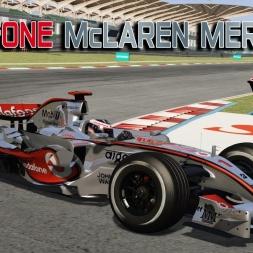 Assetto Corsa * McLaren Mercedes MP4/22 (2007) v0.1