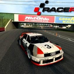 ► Audi 90 quattro IMSA GTO RaceRoom Racing Experience @ Mid Ohio