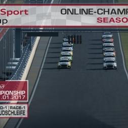 RaceRoom | Audi TT'15-16/S1: Online Championship`17 (R-1/Race-1 Red Bull Südschleife)