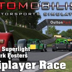 Automobilista | RaceDepartment Club Race | Caterham Superlight | Oulton Park Fosters
