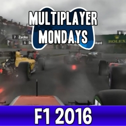 Multiplayer Mondays F1 2016 Highlights - Story Time With RaGe