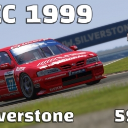 Assetto Corsa | BTCC 1999 | Nissan Primera | Silverstone | 59,621