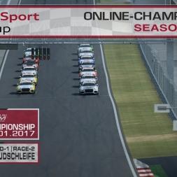 RaceRoom | Audi TT'15-16/S1: Online Championship`17 (R-1/Race-2 Red Bull Südschleife)