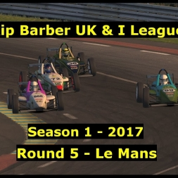 iRacing - Skip Barber UK and I League S1 2017 @ Lemans