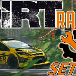 DiRT Rally | Ford Fiesta RS Setup | Wales | Wheel & Controller [4K]