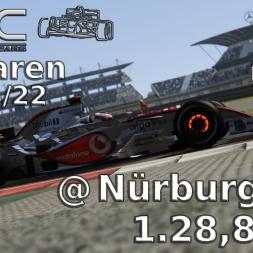 Assetto Corsa | VRC McLaren Mercedes MP 4/22 | Nürburgring | 1.28,821