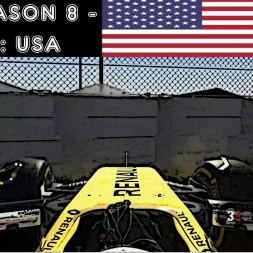 F1 2016 - F1XL Season 8 - Race 16: USA