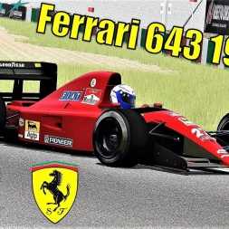 Ferrari 643 1991 F1 HOTLAP at Suzuka - Assetto Corsa (Mod Download)