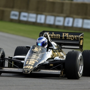 Assetto Corsa Helmet Cam[FPV] Lotus 98T at Silverstone GP Race AI 85%