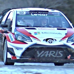 Rallye Monte Carlo WRC 2017 Shakedown - PURE Car Sounds!
