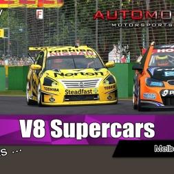 Automobilista @ Melbourne / Super V8 Gameplay
